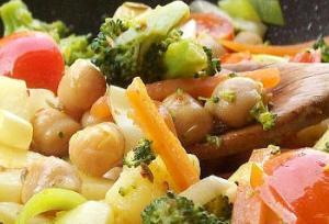 ricetta vegetariana ceci broccoletti curry serena babbo vegan chef